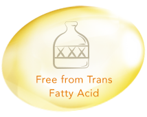 Free from Trans Fatty Acid
